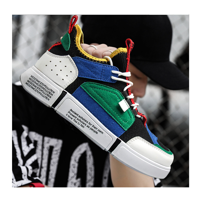 2019 Hot-sale Fashionable Gentleman Cool <strong>Shoes</strong> Combined Colors