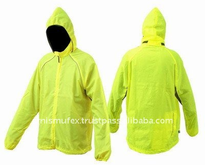 2016 new style Foldaway Waterproof full zip cycling/bicycle/bike rain jackets