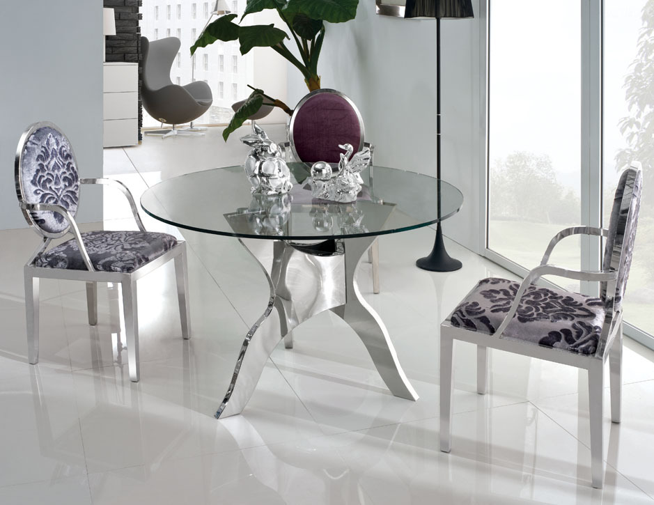Popular Round Glass Top Dining Table Buy Cheap Round Glass