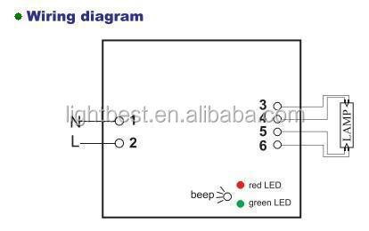 Quartz Tube To W Uv Lamp Electronic Ballast For Ultraviolet - Wiring diagram uv light