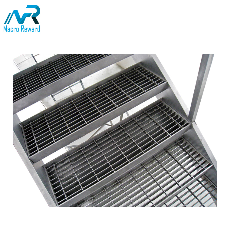 ASTM Q235 Stainless Steel Grating Bridge Decking Flooring Grating / outdoor drain grates