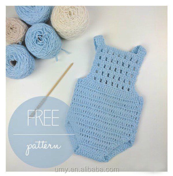 Newborn Baby Crochet All In One Romper Free Patterns Design Of Handmade Infant Toddlers Clothing