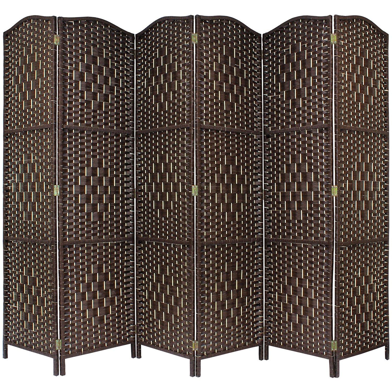 Beweegbare Rotan Decoratieve Dubai Hout Panel Kamerscherm Scheidingswand
