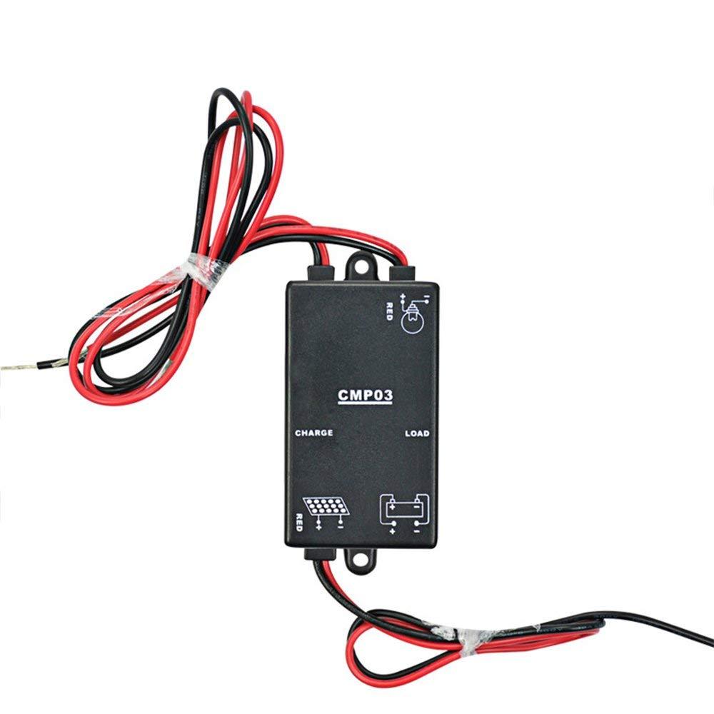 Cheap 12v Garden Lights Uk Find Deals On Line Wiring Supplies Get Quotations Aoshike 3a Solar Charge Controller Lighting Yard Regulator A