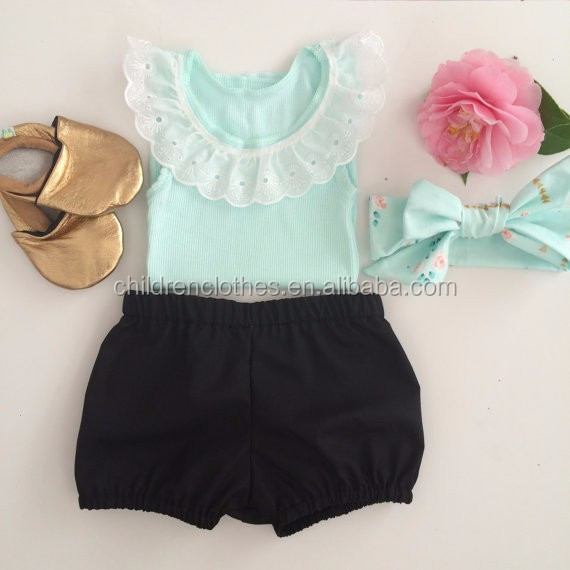Wholesale clothing children's clothing sets girl own brand clothing outfits
