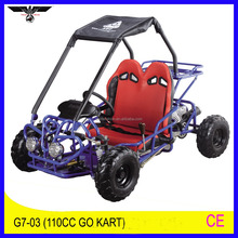 125cc 4-stroke gas beach dune buggy go cart with CE certificate (G7-03)