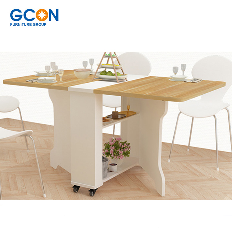 Multi Function Foldable 8 Seater Dining Table Set Space Saving Furniture Buy Dining Table Set Wooden Dining Table Extendable Dining Table Product On Alibaba Com