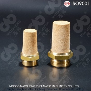 A Type Series Sintered Copper pneumatic muffler