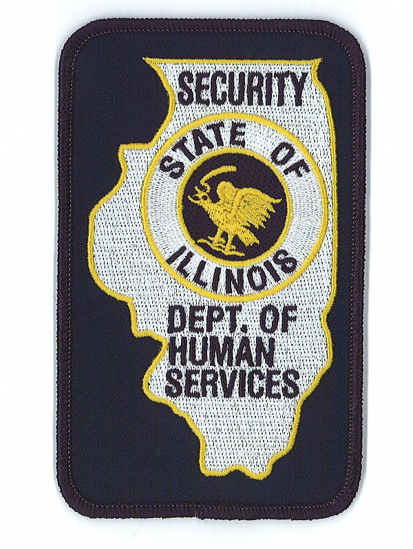 state of security officer embroidery patch