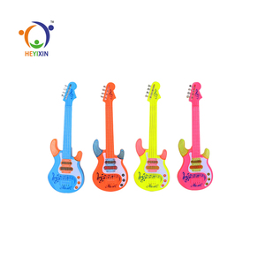 Best selling wholesale induction miniature guitar toy kids learning for sale