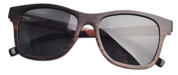 2016 style Black Walnut Wood Polarized lens screw holes Multi-layer wooden sunglasses dropshipping WL58