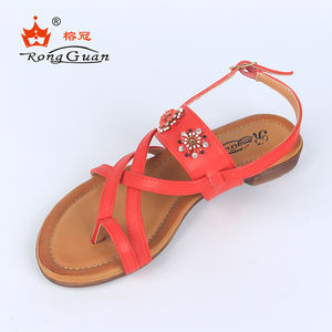 China Wholesale Fancy New Model Design Gladiator Beach Ladies Flat Sandals