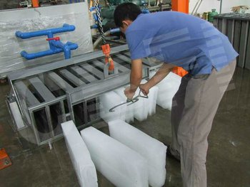 Large Block Ice Plant With Stainless Steel Ice Mold To ...