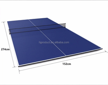 2PC Combined To Table Tennis Top,Standard Size Table Tennis Ping Pong Table  Top Board