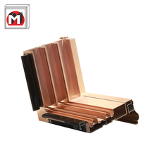 Construction accessories extruded aluminium frame profile for windows and doors