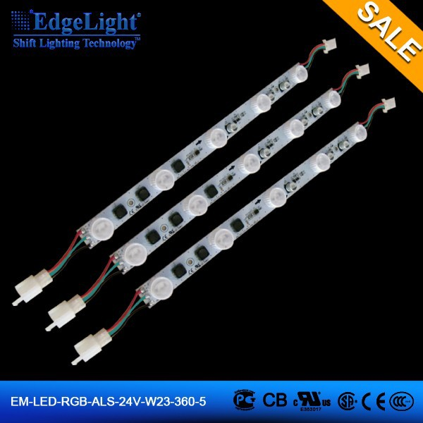 Edgelight High power High Brightness EDGEMAX series led bar stripe