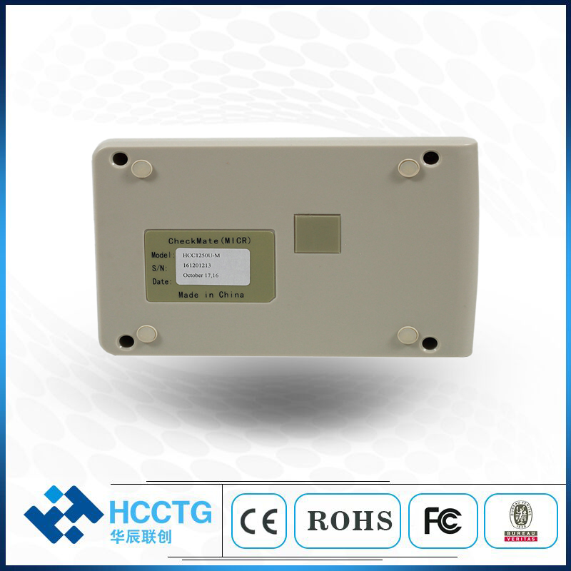 RS232 / PS/2 / USB ISO1004 E13B CMC7 Bank MICR Scanner Check Reader With MSR HCC1250X-M