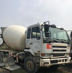 8m3 9m3 10m3 6X4 Japan Used Nissan Concrete Mixer Truck CWB459 For Sale