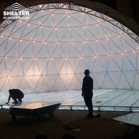 Dome shaped marquee stage tents for sale