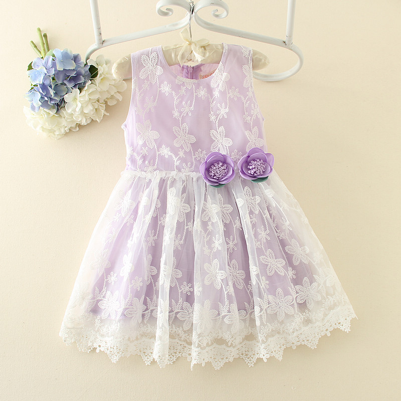 Lace 3,5 Year Old Girl Dress Indo Western Dress For Girl 4 Year Old Girl  Dress Purple Flowers Appliqued Kids , Buy 3,5 Year Old Girl Dress,Indo