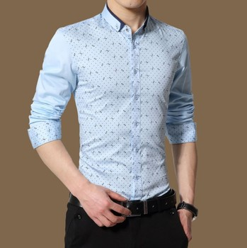 a48041a66d X80670B 2018 long sleeve new design casual shirts for men latest shirts  blouses pattern clothes