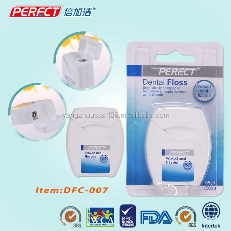 Dental water jet pump floss card flosser yangzhou