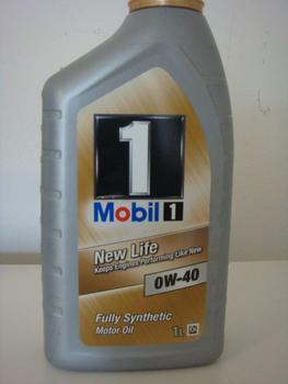 engine oil fully synthetic mobil 1 new life 0w40 1 liter. Black Bedroom Furniture Sets. Home Design Ideas