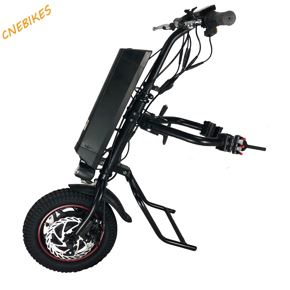 best selling 12'' 36v 350w handbike wheelchair electric handcycle with 11.6ah battery