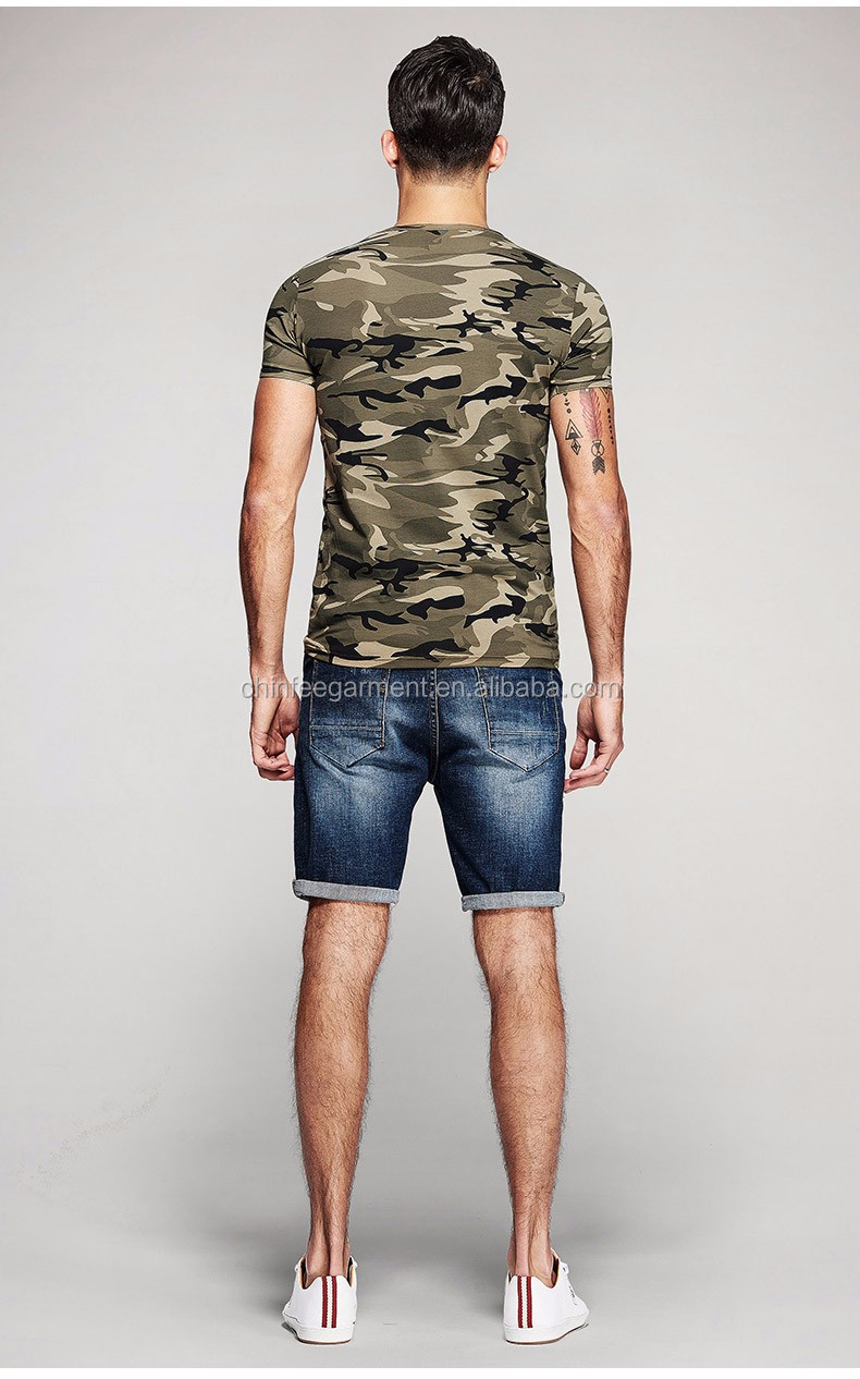 Mst007 Cheap Wholesale Camo T Shirts Custom T Shirts