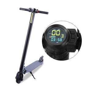 Shenzhen Factory Wholesale 2018 Hot Sale Good Quality 5 inch Color Screen adults Bicycle Folding Electric Scooter