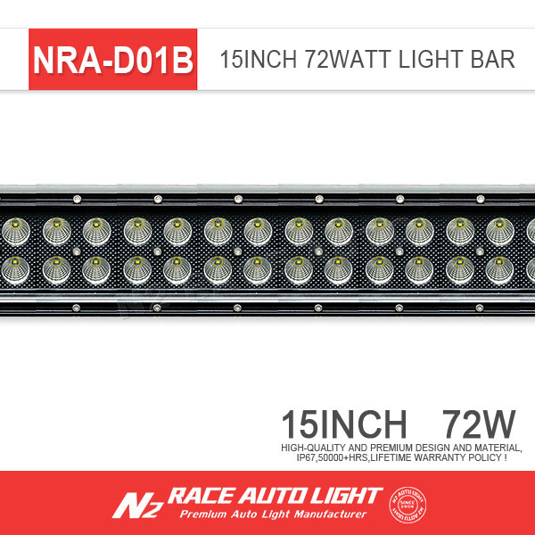 Guangzhou auto supplier 72 Watt Led Light Bar 13 Inch Curved and Straight Led Light Bar Barra de luz led