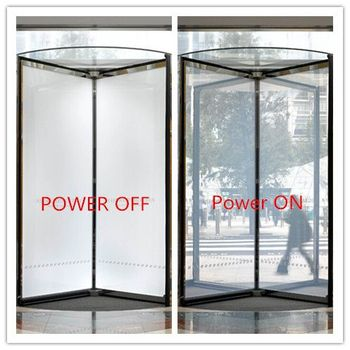 55 Mm Thickness Switchable Privacy Smart Glass Used In Commercial