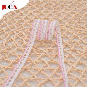 Customized 100 cotton embroidery lace fabric crochet trim lace