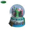 Resin custom high quality New York souvenirs glass snow globe