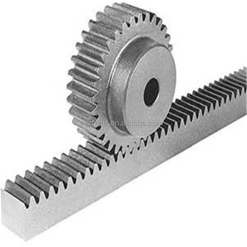 CNC made MOD 1.5 21T SPUR GEAR RACK AND PINION