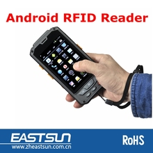 Android touch screen long range passive rfid tag reader