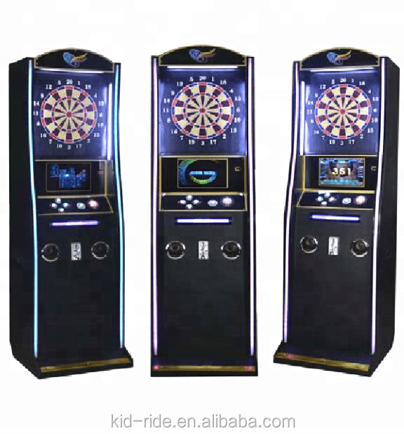 Indoor playground amusement park darts game machine coin operated arcade game electronic dart machine