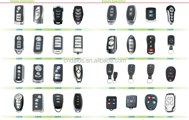 High Quality Duplicate Car Key Clone Car Door Lock