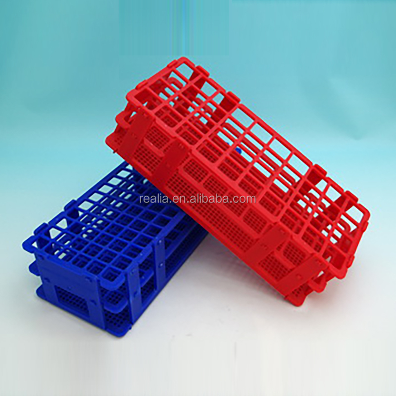 HML031 TEST TUBE RACK PLASTIC BASKET STYLE 40 HOLES,20mm;24 HOLES,25mm;21 HOLES,30mm