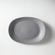 Long Lasting Quality Porcelain Tableware Grey Plates Restaurant