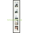 Photo Frame Pvc Photo Frame Cheap Black Collage Plastic PVC Photo Frame With 3 4x6 Openings