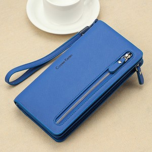 High Quality Leather Wallet Women Fashion Elegant Purse Big Capacity Cell Phone Card Holder Money Clip Ladies Clutch Bag