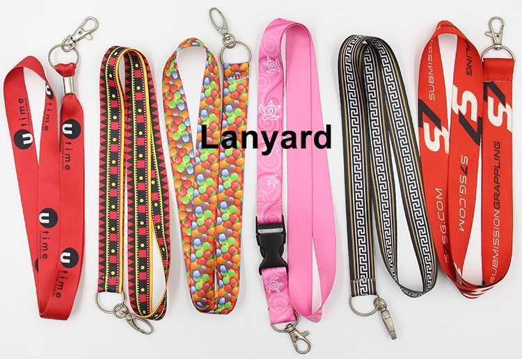 polyester lanyard with card holder lanyard printing