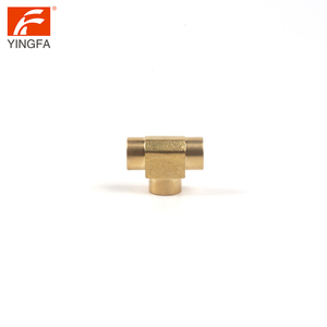 64205-6 Female 45 degree tube fitting joint lateral Pipe Tee
