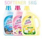 New 3-Color 5KG Fabric Softener, Natural Softener Detergent Washing Liquid Laundry Product Stocked
