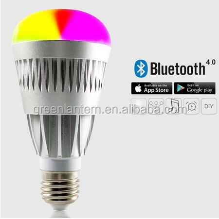 Wireless Dimmable Smart LED Light Bulb Bluetooth Home 10W <strong>E27</strong> For Android IOS