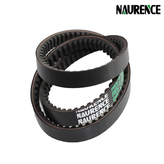 Different types toothed rubber v belt for agricultural machine