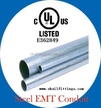 UL 797 ANSI C80.3 EMT tube conduit pipe