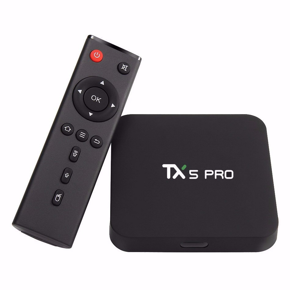 Soyeer Free Shipping Amlogic S905X Quad Core Tx5 Pro <strong>Tv</strong> <strong>Box</strong> <strong>2G</strong> 16G 5.0G WIFI Bluetooth 4.1 <strong>Android</strong> 6.0 Marshmallow <strong>Tv</strong> <strong>Box</strong>