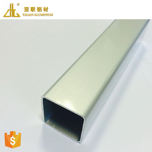 High precision extruded profile alloy aluminum tube 6063